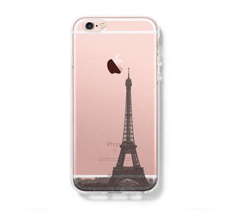 Casing Hp Cover Iphone 5 5s 6 6s 6 Plus 6s Plus Leather Metal eiffel tower iphone 6s clear iphone 6 plus
