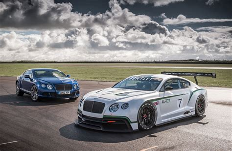 the bentley bentley returns to motosport with racing gt extravaganzi