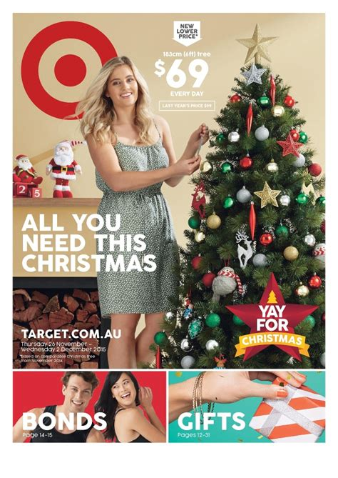 target catalogue christmas decor 25 nov 2015