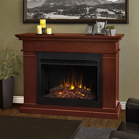kennedy grand infrared electric fireplace mantel package