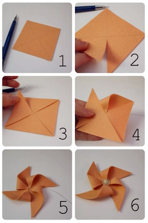 Make Pinwheels Out Paper - how to make a pinwheel techniques tips tutorials