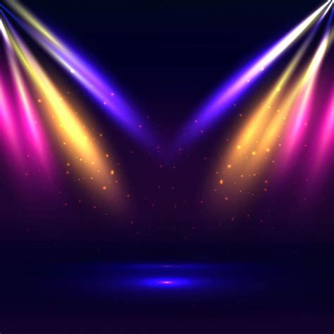 free stage background design vector stage lights background www pixshark com images