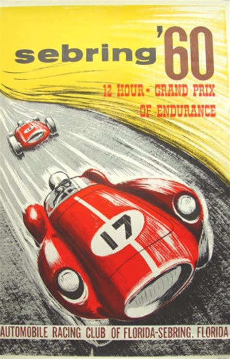 Poster Classic Car 1 vintage posters shell oils and racing cars classic