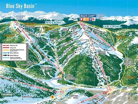 vail colorado ski map vail piste maps