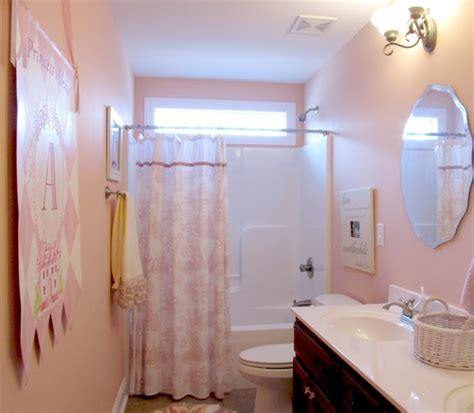 female bathroom pin by pittsburgh paints stains on our best pink paint