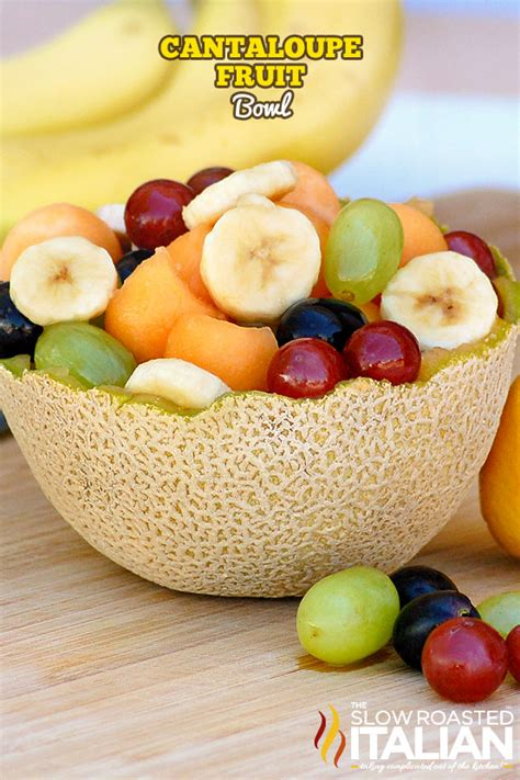 m s fruit bowl cantaloupe fruit bowl
