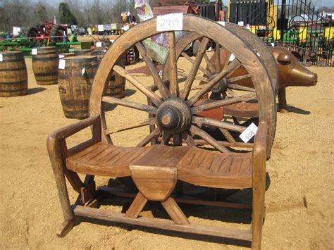 wagon wheel bench seat wagon wheel bench seat