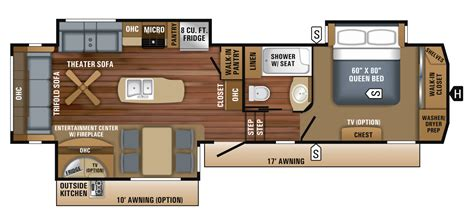 jayco fifth wheel floor plans 2018 eagle fifth wheel floorplans prices jayco inc