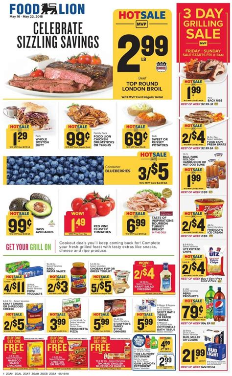 food lion weekly ad   promogrocery