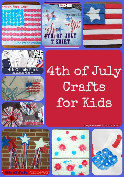4th Of July Crafts For Up And Thyme