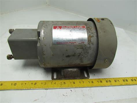 induction motor sf jr mitsubishi electric sf jr 3ph induction motor 4 pole 200 220v 1700rpm 71 frame ebay