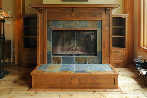 arts and crafts mantels craftsman fireplace mantel auto
