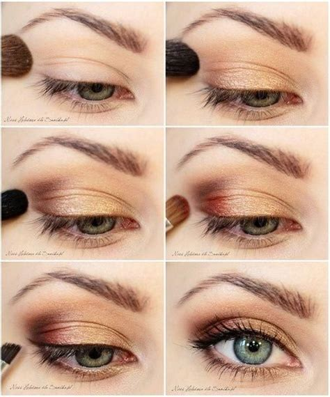 bronze eye makeup step by step mugeek vidalondon