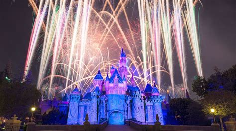 10 of fireworks shows at disney s theme parks