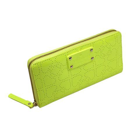 Kate Spade Wallet Neda Newburry Bright Yellow kate spade neda metro spade fluorescent yellow zip around wallet clutch wlru1444 kate spade