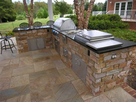 backyard griddle outdoor kitchens this ain t my dad s backyard grill