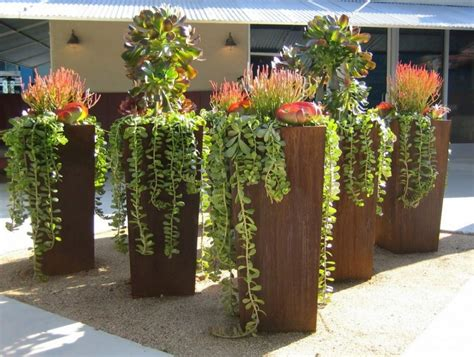best planters planters interesting commercial outdoor planters