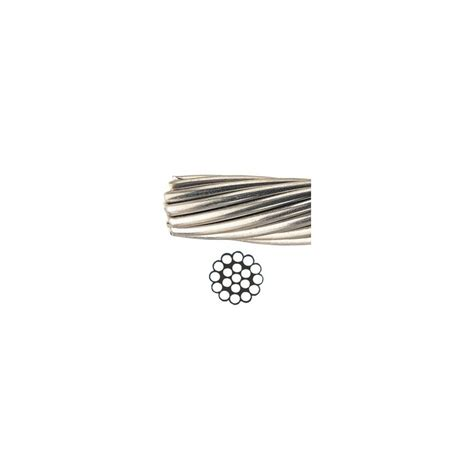 1 X 19 Stainless Steel Cable - 1x19 stainless steel aisi 316 cable