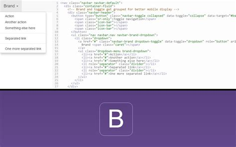 tutorial bootstrap dropdown tytyweb bootstrap 3 brand dropdown menu