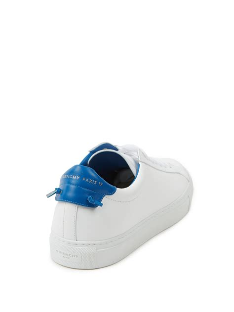 givenchy mens sandals givenchy knots low lace up sneakers in white lyst