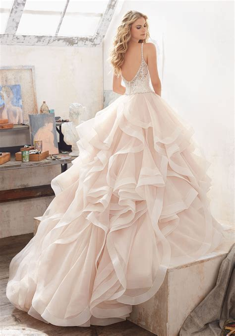 Style Wedding Gowns by Marilyn Wedding Dress Style 8127 Morilee