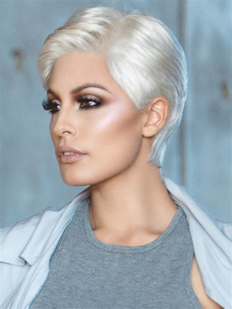 pure white wigs and hair pieces short and curly hairstyles risk wig by ellen wille best seller lace front wigs