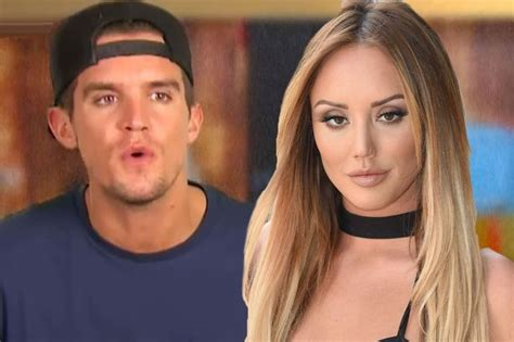 gary beadle changes his look after charlotte crosby split gaz beadle and charlotte crosby s war of words can their