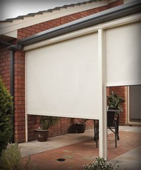 Custom Patio Blinds by 1000 Images About Stratco Ambient Blinds On