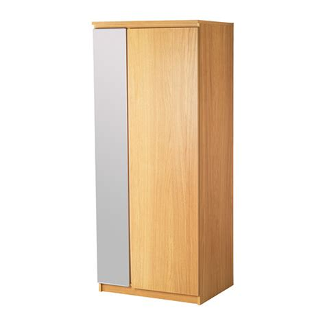 Armoire With Hanging Space Ikea Aneboda Wardrobe Birch Veneer Nazarm Com