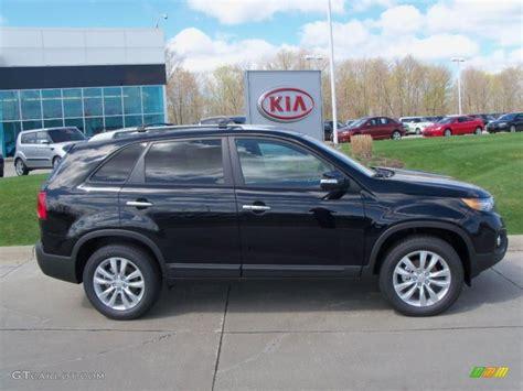 2011 Kia Sorento Black Black 2011 Kia Sorento Ex Exterior Photo 48615182
