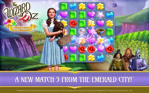 match apk the wizard of oz magic match apk v1 0 1292 mod lives boosters revdl phone gadget media