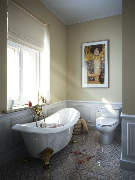 Clawfoot Tub Bathroom Design by Fashion
