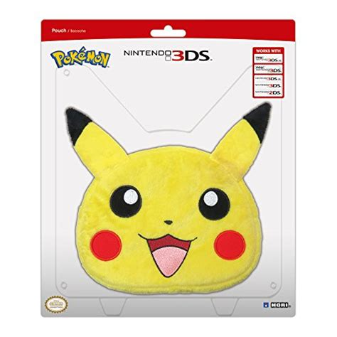 New 3ds Xl Hori Pikachu Plush Bag universal pikachu plush pouch xl nintendo 3ds at shop ireland