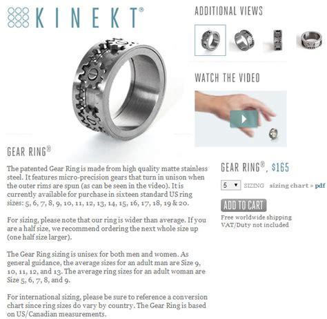 kinekt s cool gear ring jewelry secrets