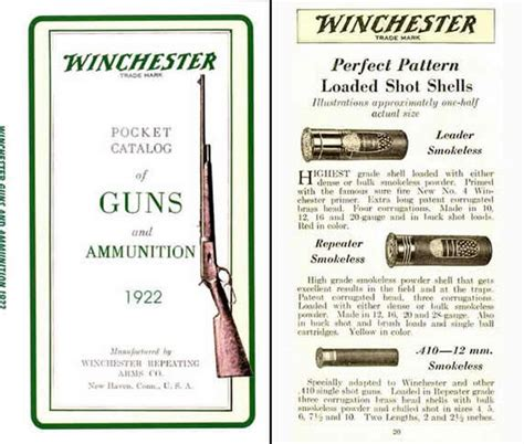 guns ammunition and tackle classic reprint books cornell publications winchester 1922 catalog of guns and