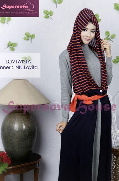 Baju Muslim Rajut contoh foto baju muslim modern terbaru 2016 contoh foto busana muslim rajut terbaru untuk wanita