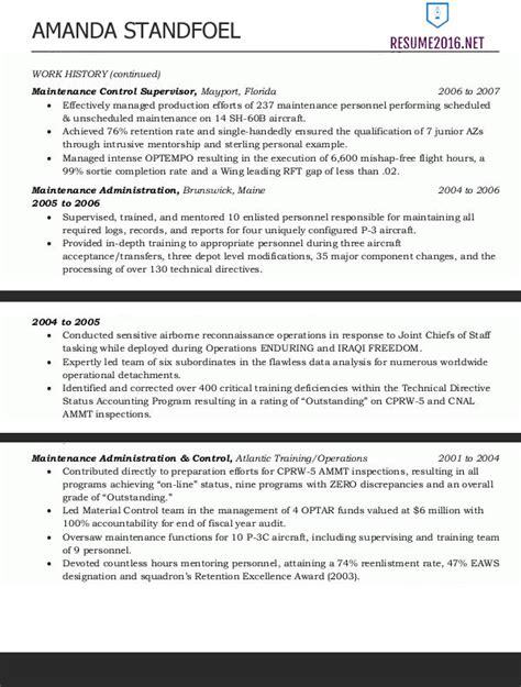 Federal Resume Template 2016 Federal Resume Format 2016 How To Get A Job