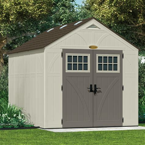 suncast tremont  ft    ft  resin storage shed