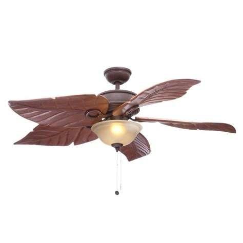 large indoor ceiling fans with lights hton bay palm leaf ceiling fan best home design 2018