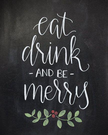 sale eat drink   merry chalkboard  heartcraftedco  etsy christmas chalkboard