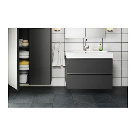 Turquoise Bathroom Ideas godmorgon br 197 viken wash stand with 2 drawers high gloss