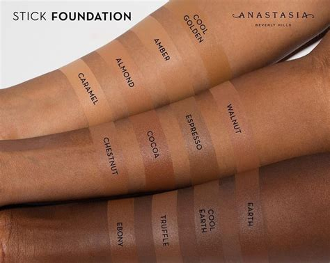 anastasia beverly hills cream foundation abhfoundation anastasiabeverlyhills stick foundation