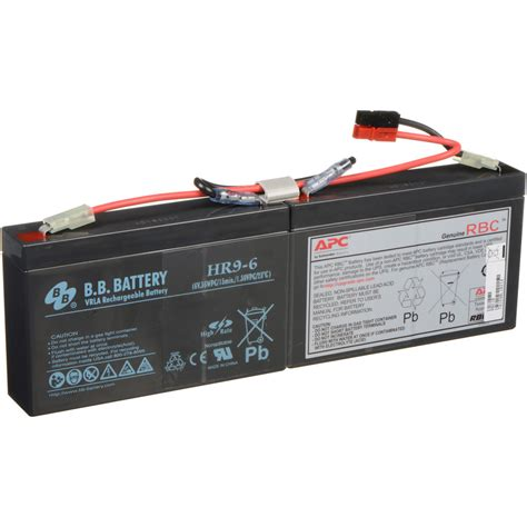 Battery Ups Apc Rbc 18 apc replacement battery cartridge 17 rbc18 b h photo