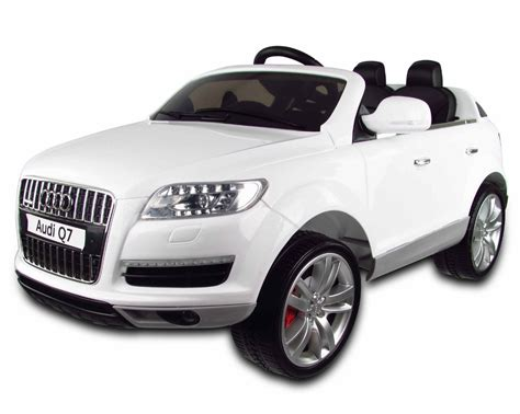 audi q7 car white audi q7 12v electric car
