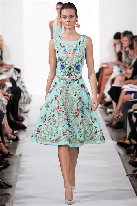 Dress La oscar de la renta summer 2014 fashion ideas 2019