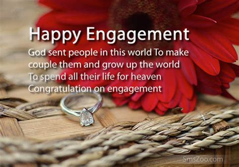 Engagement Wishes for a Friend   Engagement Sms