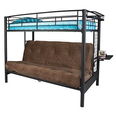Metal Frame Futon Bunk Bed 17 Best Ideas About Futon Bunk Bed On Pinterest Bunk Bed With Futon Bunk Bed And Bunk Beds
