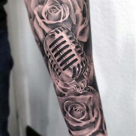 mens shaded tattoo designs 60 sleeve tattoos for lyrical ink design ideas