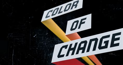 color of change color of change past caigns