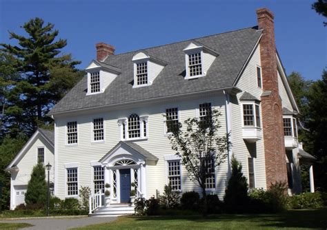 Colonial Dormers Federal Colonial Traditional Exterior Boston By